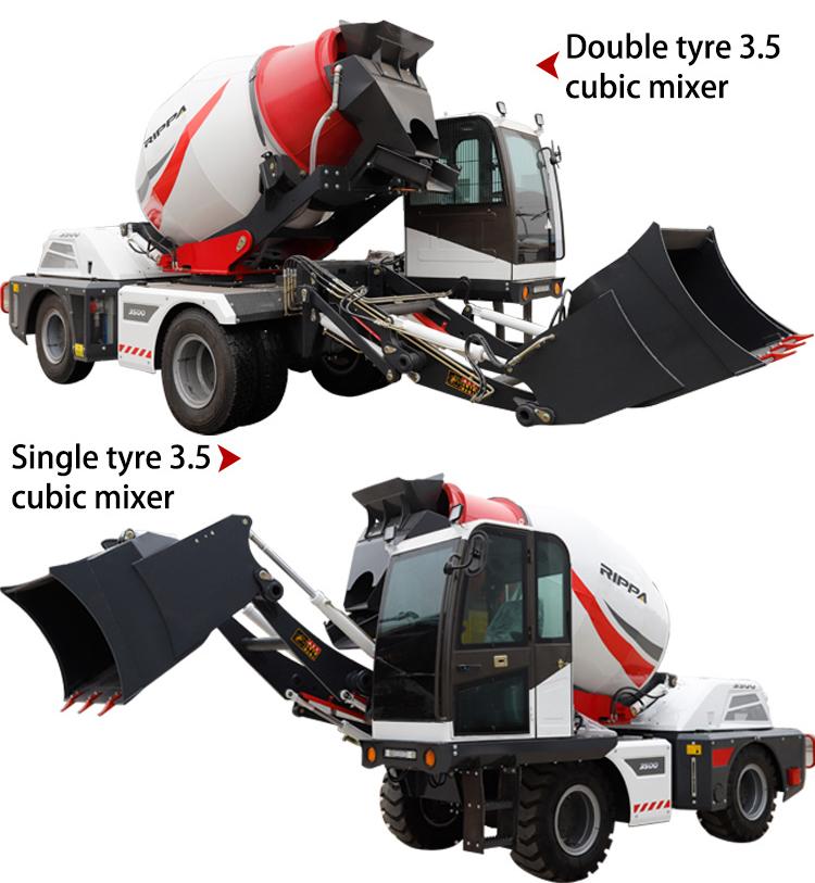 Mini concrete mixer pump mini concrete mixer cement mixer-Rippa China