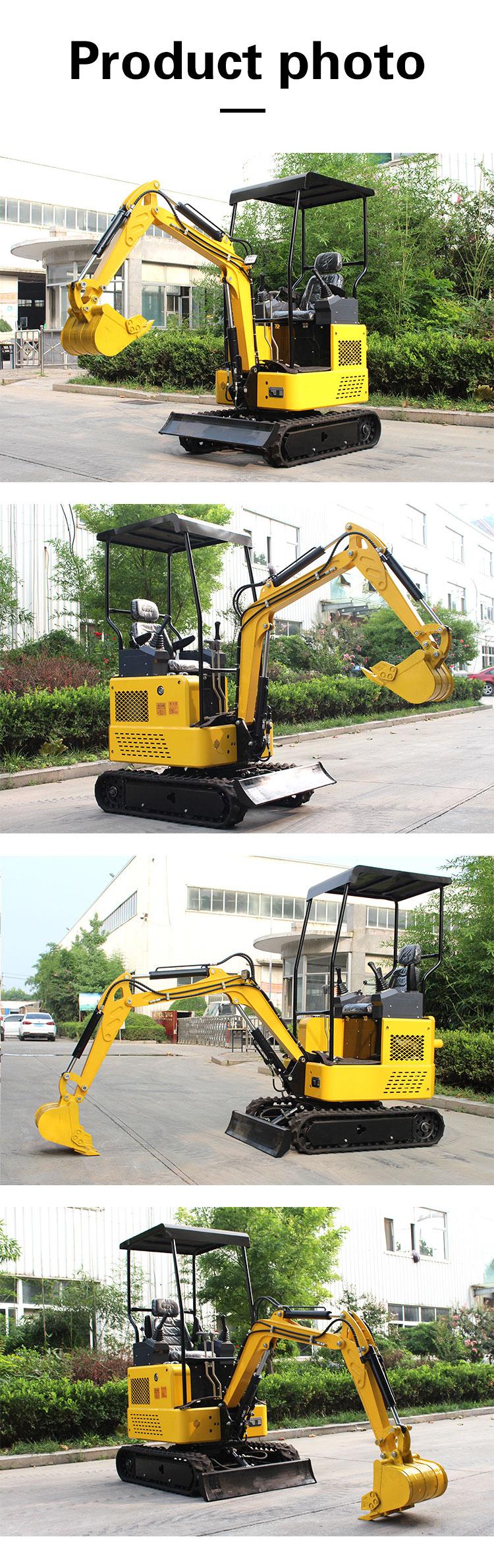 1 ton small excavator-Rippa China