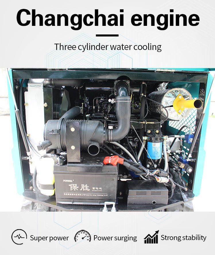 1.8 ton mini digger-Rippa China