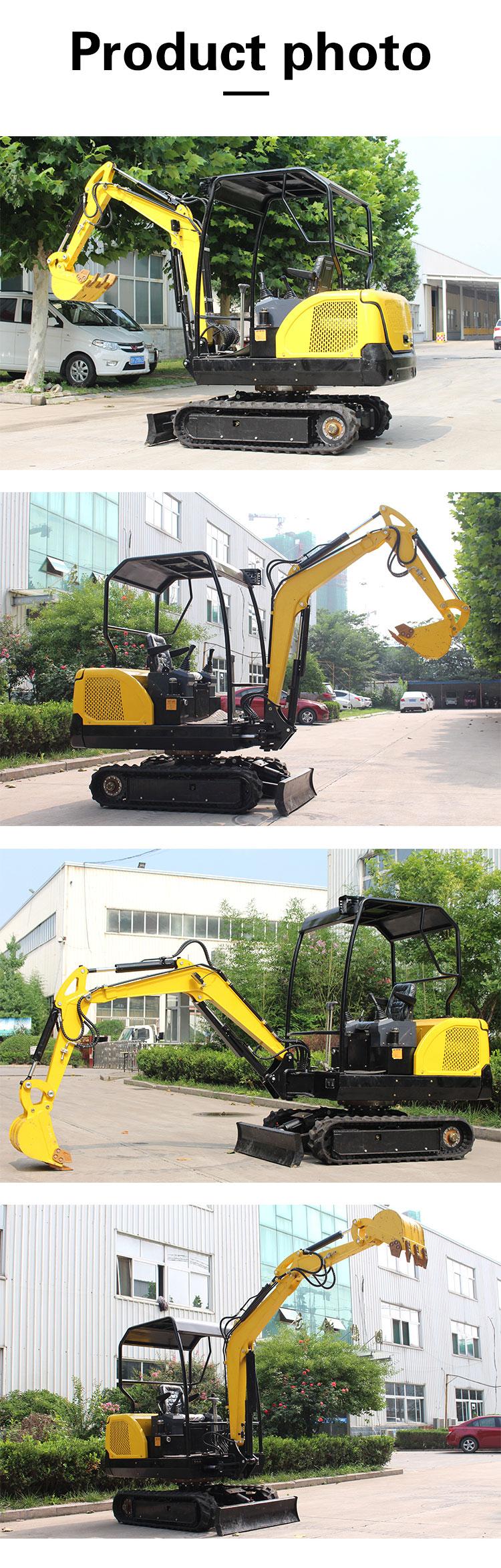 2 ton mini excavator-Rippa China