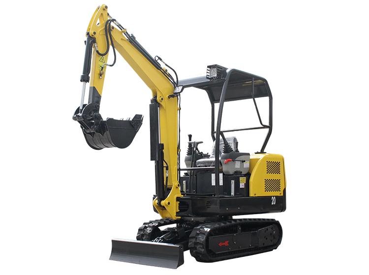 2 ton mini excavator
