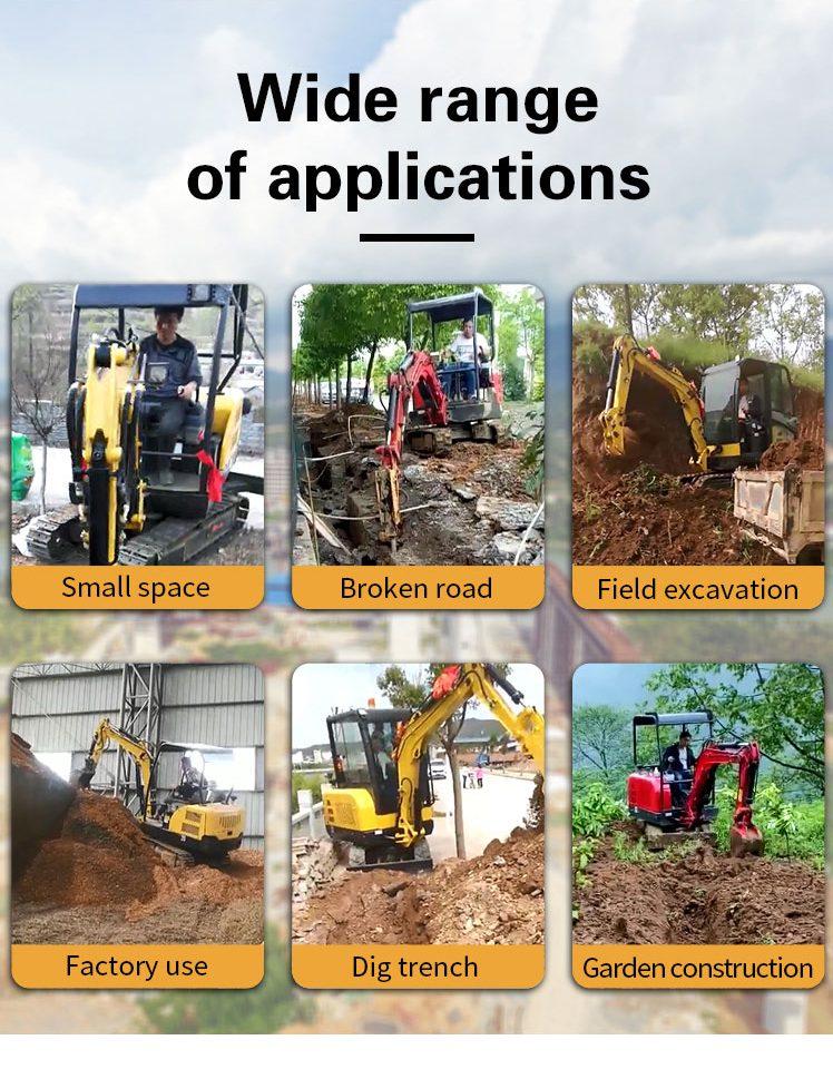 2.5 ton small excavator-Rippa China