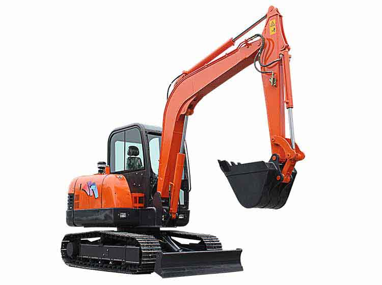6 ton small excavator with cab