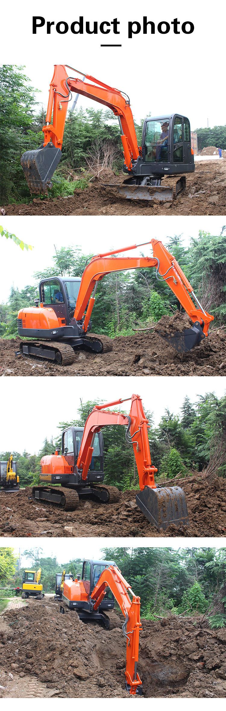 6 ton small excavator with cab-Rippa China