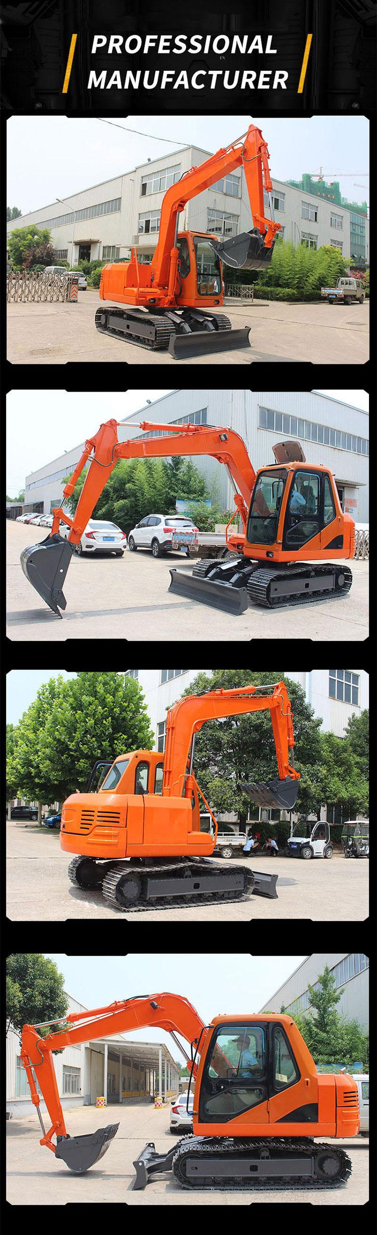 6 ton china small excavator-Rippa China