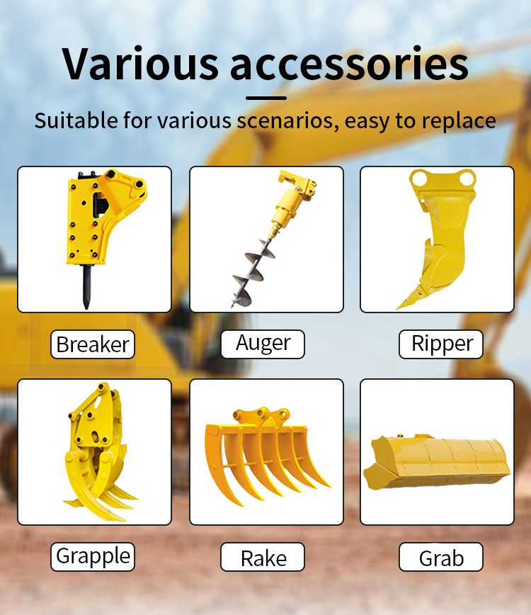 R390 small excavator auger-Rippa China