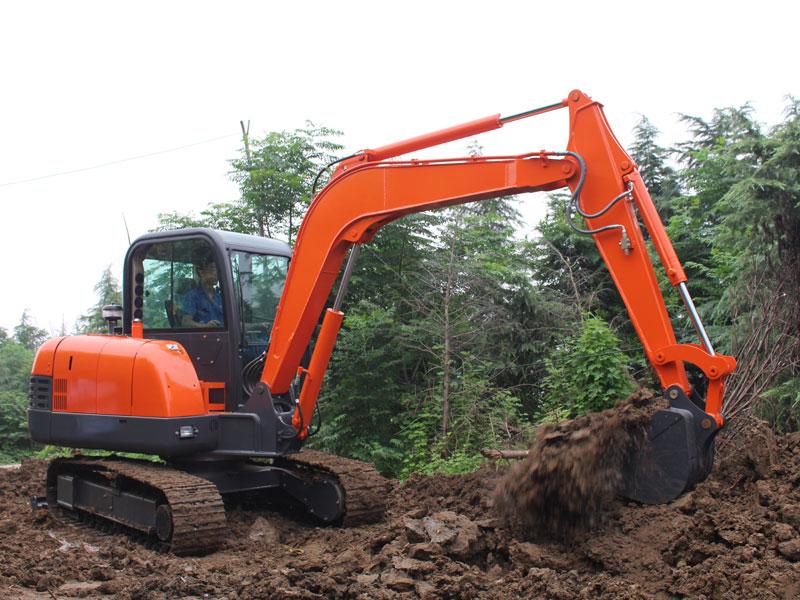 Construction case of 6 ton excavator-Rippa China