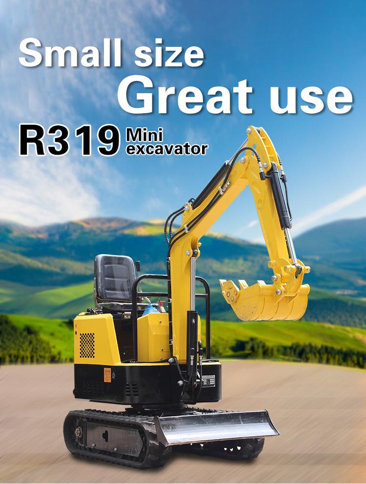 Small Excavator – R319-Rippa China