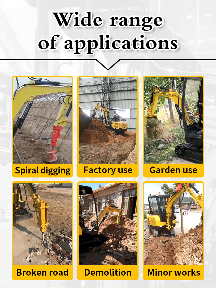Small Excavator – R350-Rippa China