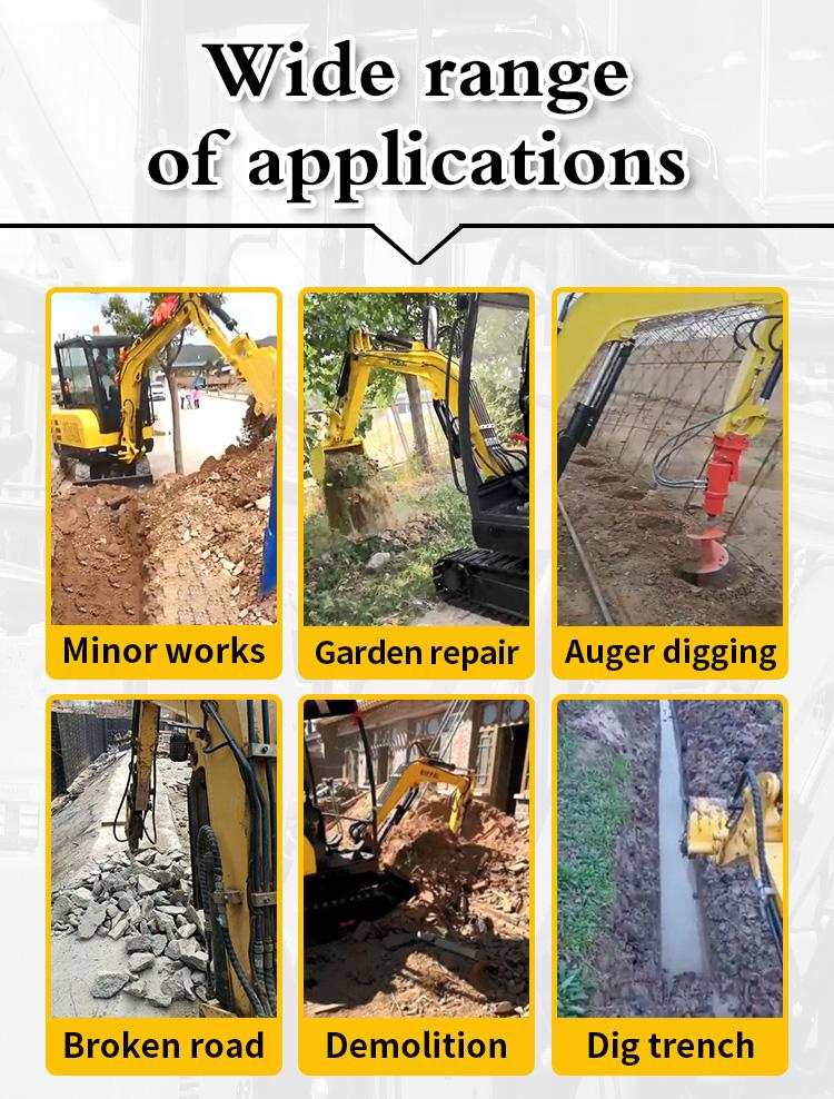 Small Excavator – R355-Rippa China