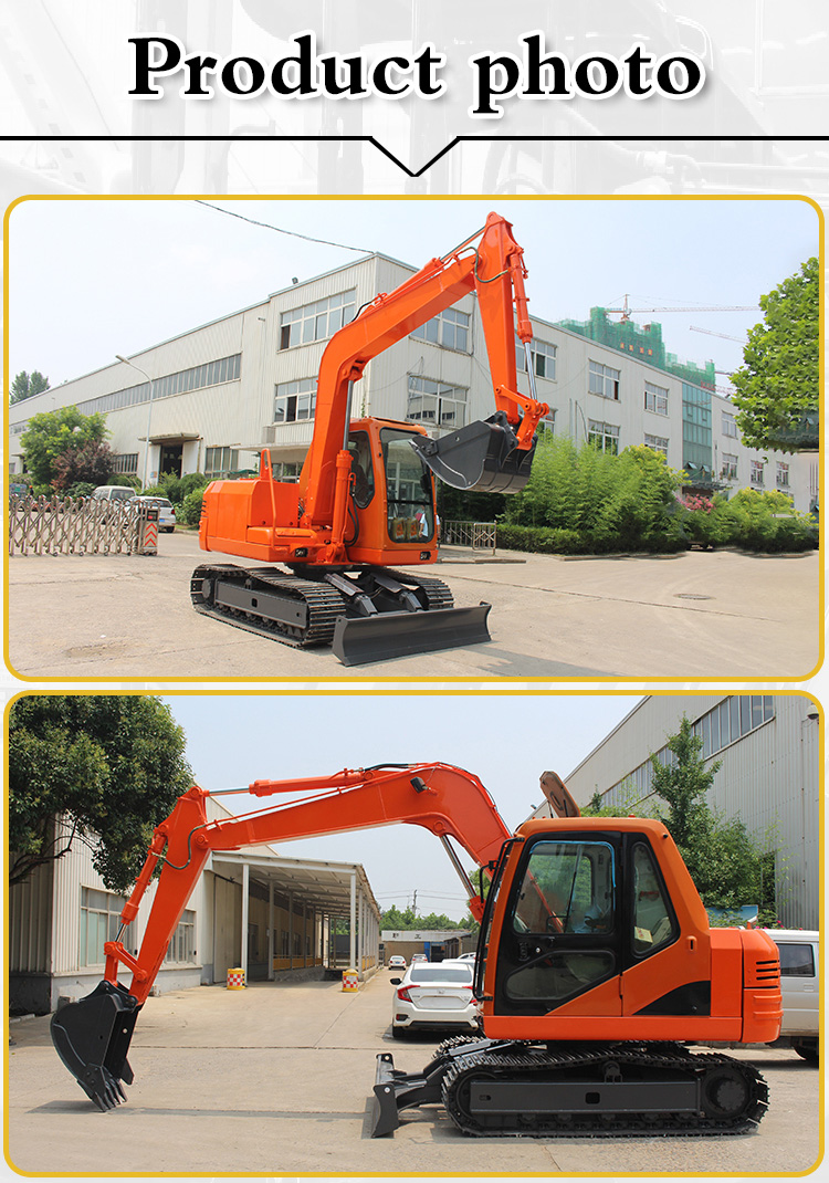 Small Excavator – R380-Rippa China
